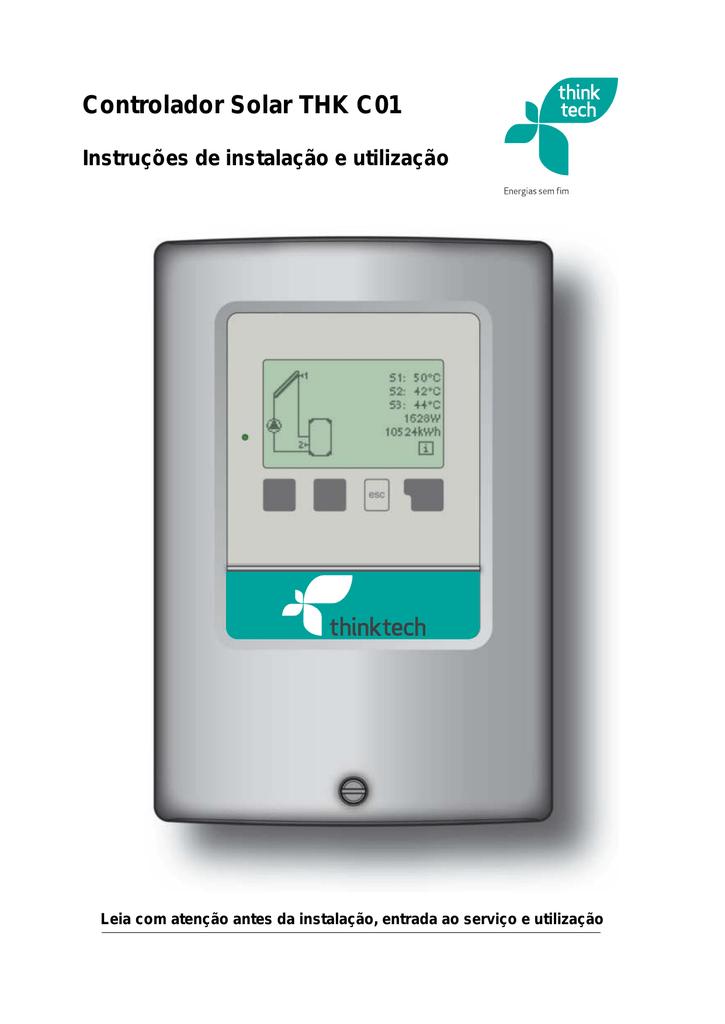 Controlador Solar THK C01 pt