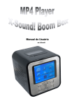 Manual MP4 BoomBox X-Sound!