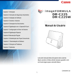 DR-C225/DR-C225W User Manual