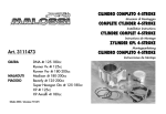Cilindro completo 4-stroke complete cylinder 4
