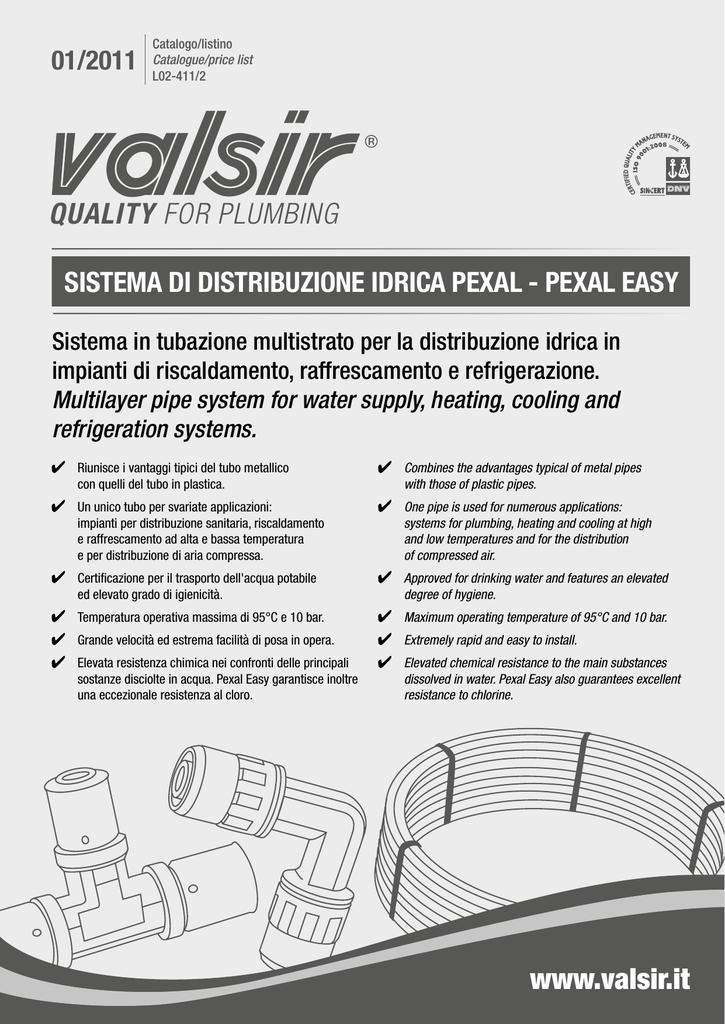 PeXaL easY - Dolphin Valsir