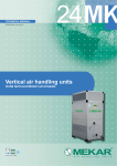 Vertical air handling units