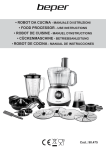 food processor - use instructions • cückenmaschine