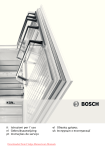 Bosch KGN 49AI20 Fridge Freezer Operating Instructions User