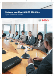 Brochure commerciali - Bosch Security Systems