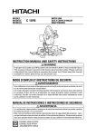 c 15fb instruction manual and safety instructions mode d`emploi et