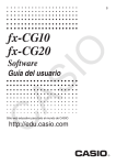 fx-CG10_20_Soft - Support