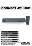 Marmitek Connect 421 UHD User Guide
