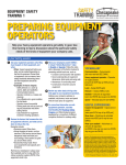 Landscape Equipment Safety - Chesapeake Employers Insurance