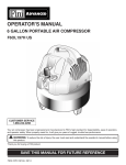 operator`s manual f6ol197h us 6 gallon portable air