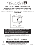 High Efficiency Wood Stove - Small