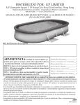 2009 Spanish Oval Pool Manual.indd