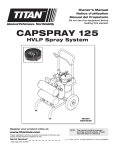 CAPSPrAy 125 - Westco Sanitary Fittings
