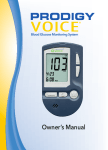 Owner`s Manual - Prodigy Diabetes Care