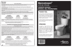 Mainstream® - American Standard