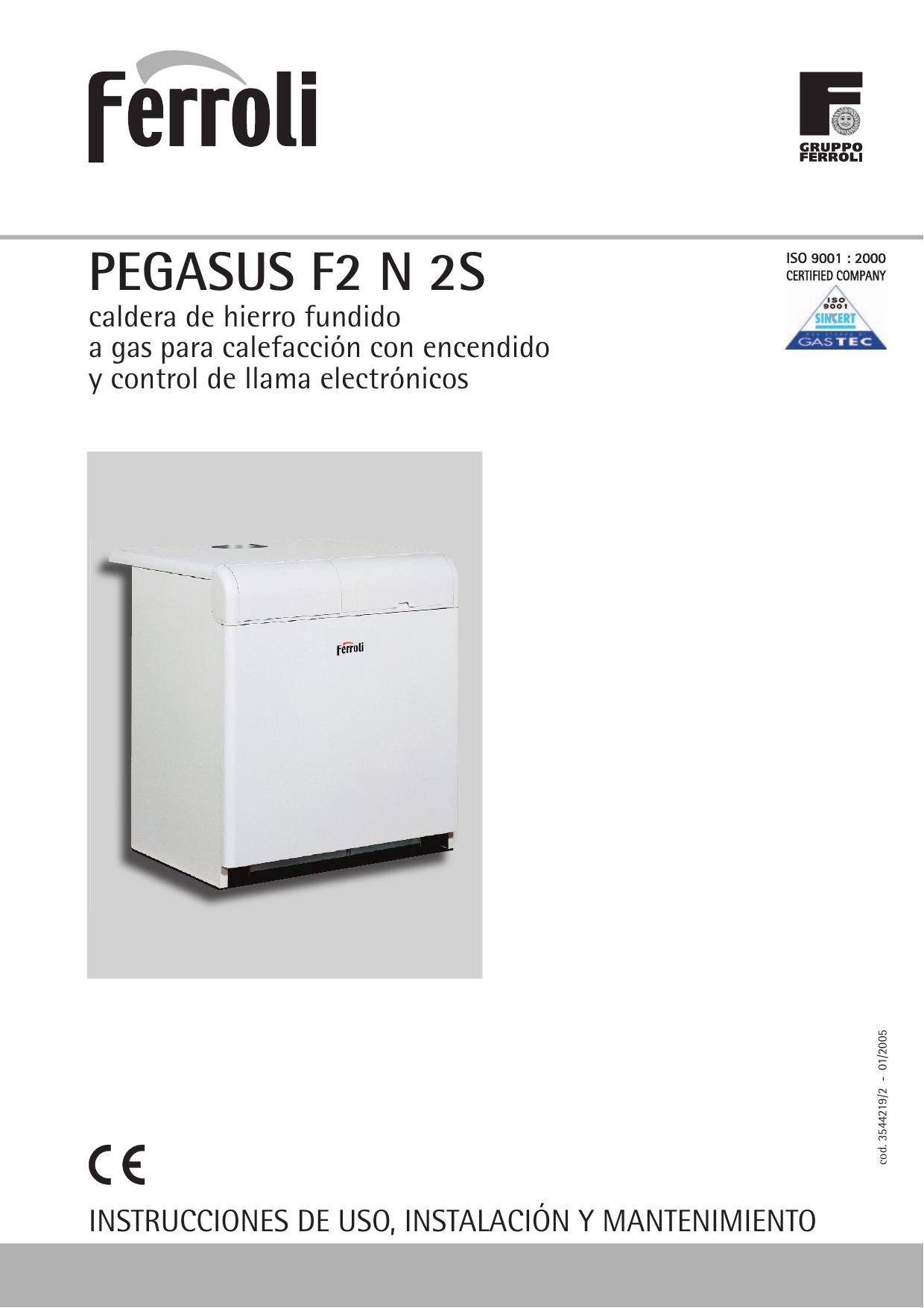 Pegasus F2 N 2s Repuestos Ferroli Alicante