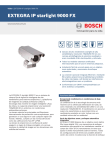Hoja de datos - Bosch Security Systems