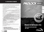Manual Olimpus-bilingue padlock BR404