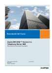 Descripción del Curso Aastra MX-ONE™ Version 4.x Telephony