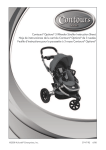 Contours® Options® 3 Wheeler Stroller Instruction Sheet