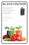 fruit and vegetable juice extractor extractor de jugo para frutas y
