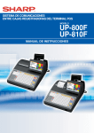 UP-800F/810F Operation-Manual Supplement ES