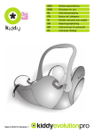 SillaCocheBebe.com | Manual de instrucciones | Kiddy Evolution Pro