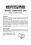 marine commander 2000 manual de instrucciones