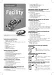 Manual de instrucciones Facility 4