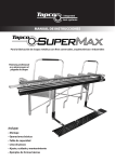 Manual en PDF de SUPERMAX