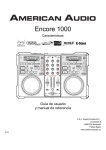 Encore 1000 - Amazon Web Services