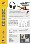 Ficha Easy Sound Headphones BT
