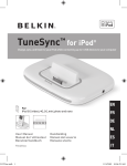 TuneSync™ for iPod