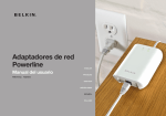 Adaptadores de red Powerline