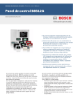 Panel de control B8512G - Bosch Security Systems