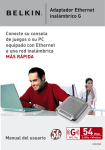 Adaptador Ethernet inalámbrico G