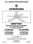 Emerson CF205GES01 Owner`s manual on