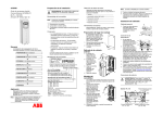ES / ACS550-01/U1, IP54 / UL Type 12, Quick Start Guide