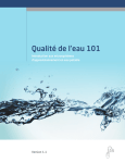 Qualité de l`eau 101 - Water Quality Training