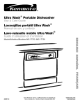 Ultra Wash ® Portable Dishwasher Lavavajillas port&til Ultra Wash ®