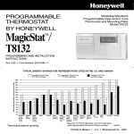 69-0740B - T8132 - Programmable Thermostat