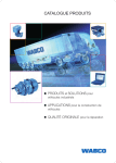 CATALOGUE PRODUITS - WABCO Product Catalog: INFORM