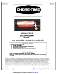 GENERATION 2 QUADRATHERM® Ignition - Chore