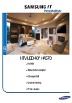 HTV LED 40`` HA570