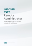 Solution ESET Remote Administrator