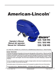 American-Lincoln® - Caliber Equipment Inc.