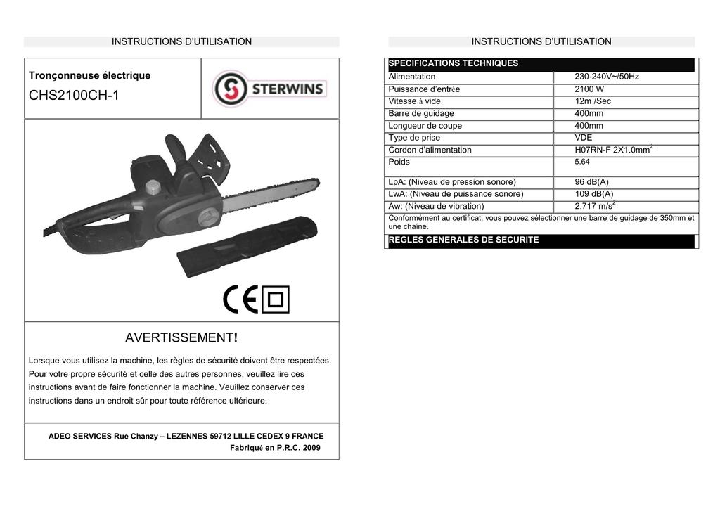 Chs2100ch 1 Leroy Merlin