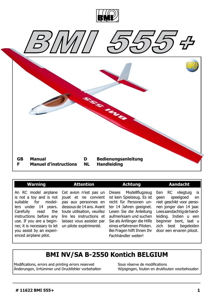 11622 Manual Bmi 555 Plus Servo Controller With 150x150 Motor Control The