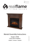 Mantel Assembly Instructions