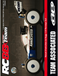 Manuel d`instructions du Buggy 1/8 Thermique 4x4 - MRC